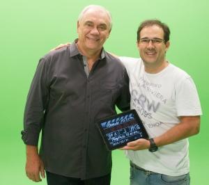 Talento - Making off, da gravação do filme para a CarSystem, com Marcelo Rezende